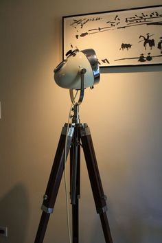 Custom Vintage Floor Lamp by TheModernWeld on Etsy