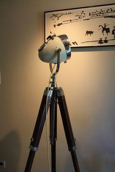 Custom Vintage Floor Lamp by TheModernWeld on Etsy