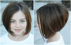 Girls Short Haircuts Kids, Girls Haircuts, Cute Bob Haircuts For Girls - Kids Hairstyles Little Girl Bob Haircut, Bob Haircut For Girls, Cute Bob Haircuts, Bob Hairstyles For Fine Hair, Little Girl Hairstyles, Teenage Hairstyles, Trendy Hairstyles, Ponytail Hairstyles, Child Hairstyles