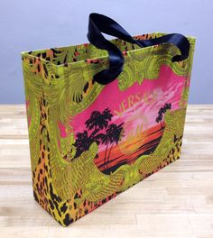 Versace for H M Shopping Gift Bags Limited Edition RARE Medium Size New | eBay