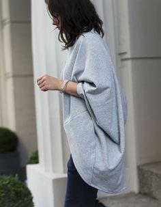 Swetro-narzutka melanż polanka | Bluzy i swetry | Mustache.pl | Moda, Design, Sztuka, Targi