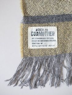 Godmother Stansborough Wool Blankets from New Zealand | Remodelista
