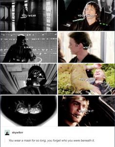 I sware--- The transformation from Anakin to Vader was the one of the most heart breaking things I have ever encountered... This almost made me cry.