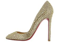 Pigalle Crystal Gold by Christian Louboutin Summer 2012