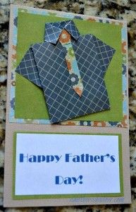 Father's Day Card that is ingenious and with this step-by-step tutorial it is easy to craft this to tell the important men in your life how much they mean to you. www.amothersshadow.com
