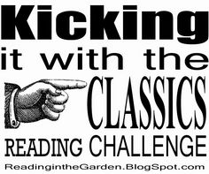 Reading in the Garden: The Classic Reading Challenge