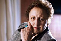 Iranian lawyer, human rights activist and 2003 Nobel Peace Prize-winner Shirin Ebadi.    Jefferson Bernardes / AFP