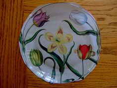 Make Your Own Vintage Botanical Print Plate ... how to