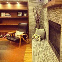 Living Room & Fireplace design by TVL Creative