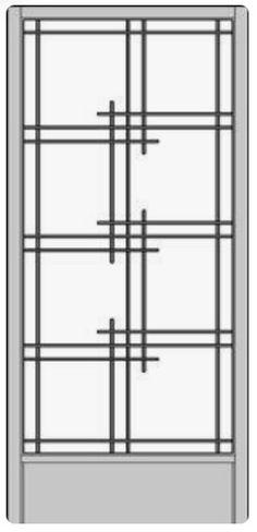 Ordering Stock Shoji Screens in Five Steps Window Grill Design Modern, Grill Door Design, Window Design, Modern Design, Ceiling Decor, Ceiling Design, Bedford House, Sliding Glass Door, Glass Doors