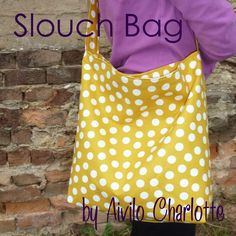 PDF Purse Sewing Pattern - Slouch Bag - easy project for beginners by Aivilo Charlotte - instant download. $6.00, via Etsy.