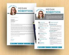 blue chart photograph modern microsoft word printable resume 1