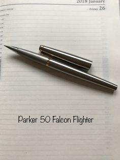 Vintage Parker 50 Falcon Flighter - a beautiful design. £49.99 from ebay.