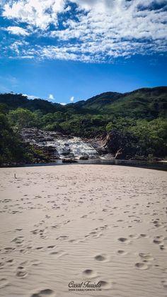Cachoeira do Telésforo, em Diamantina, estado de Minas Gerais, Brasil. Fotografia: casalturista.com