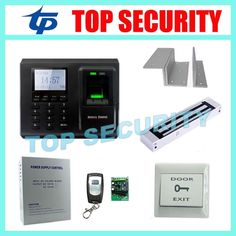 197.80$  Buy now - http://alimu4.worldwells.pw/go.php?t=1159281074 - F2 fingerprint access control system with magnetic lock, power supply and exit button 197.80$
