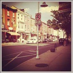 #Mainstreet stroll. #Philly #Live. #MNYKTakeover by @cjbolger