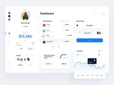 Dashboard Design, Ui Inspiration, Finance, Activities, Frame, Picture Frame, Economics, Frames