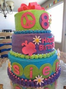 birthday cake 8 year girl