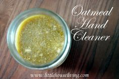 Homemade Hand Cleaner (For Dry Hands)