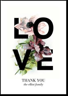 Personalized Thank you card