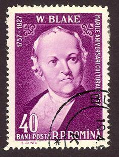 Literary Stamps: Blake, William (1757-1827)
