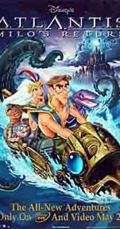 Atlantis 2 Milo S Return Free Online Movie. Milo and Kida reunite with their friends to investigate strange occurances around the world that seem to have links to the secrets of Atlantis. Watch Cartoons, Cool Cartoons, Best Cartoon Movies, Milo And Kida, Cree Summer, John Mahoney, Atlantis The Lost Empire, Cartoon Online, Blu Ray Collection