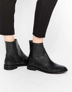 Image 1 of ASOS ALOUD Leather Chelsea Boots