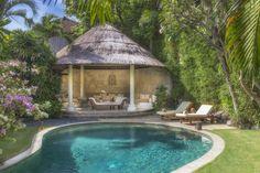 Villa 1 pool at Villa Kubu, Seminyak, Bali