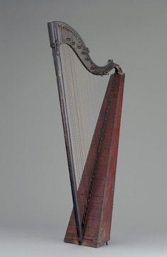 Hook Harp  Czech (Bohemian)  The Museum of Fine Arts, Boston
