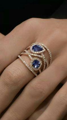 Jewelry Diy Bracelets Gorgeous sapphire and diamond ring Gorgeous sapphire and diamond ring. Jewelry Diy Bracelets Gorgeous sapphire and diamond ring Gorgeous sapphire and diamond ring Sapphire Jewelry, Diamond Jewelry, Gold Jewelry, Jewelery, Tanzanite And Diamond Ring, Gothic Jewelry, Bullet Jewelry, Leather Jewelry, Cute Jewelry