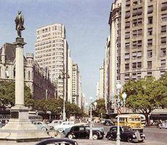 Praça Mauá, Rio de Janeiro, Brazil - 1955