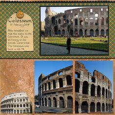 Rome+-+Colosseum - Scrapbook.com