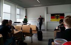 Offene SEO Vorlesung 2014 an der Hochschule Darmstadt, Jens Fauldrath mit Sepita Ansari
