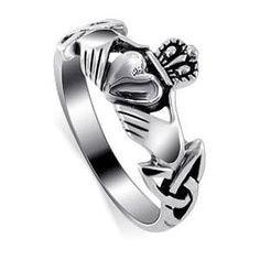 I have one of these rings. The crown means loyalty. The hands, friendship. And the heart, obviously love. I'm part Irish and would love to possibly get this tattoo'd on me at some point in my life. It stands for so much.
