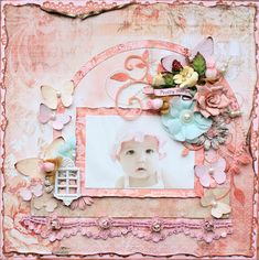 Pretty Baby *SWIRLYDOOS* - Scrapbook.com  .....Wendy Schultz onto Scrapbook Art.