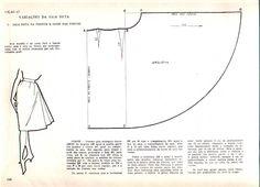 Risultati immagini per printable costura vintage Vintage Sewing Patterns, Clothing Patterns, Sewing Clothes, Diy Clothes, Sewing Hacks, Sewing Tutorials, Pattern Draping, Modelista, Dress Making Patterns