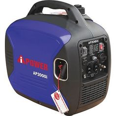 A-iPower Inverter Generator- EPA and CARB Compliant #AP2000i