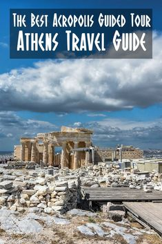 To fully understand the Acropolis and the history of Athens, it's best to take a guided tour. Here's what you can expect to experience during your tour of the Acropolis. #Athens #Acropolis #Acropolistour #Athenstour #acropolisguidedtour #visitathens #athensguide #3daysinathens #thingstodoinathens #travel #ancientathens #parthenon
