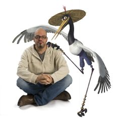 DAVID CROSS voices the level-headed Crane, one of the legendary Furious Five in DreamWorks' Kung Fu Panda Photo by Patrick Ecclesine. - Movie still no 17 Kung Fu Panda 3, Kung Fu Panda Costume, Panda Costumes, Halloween Costumes, Dreamworks Movies, Dreamworks Animation, Animation Film, Novel Characters, Cartoon Characters