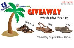 FootSmart Giveaway: 3 Winners & 3 Different Pairs of Orthaheel Sandals