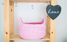 Basket is crocheted with 10mm pink cotton cord. Perfectly for storing toys, clothes, yarns, and other things of everyday life.    Height: about 20cm Diameter at the top: about 30 cm  Diameter at the bottom: about 30 cm  Washable at 30 degrees   HOW IT'S MADE?  I create all the things with love and passion. I make unique home decor products, friendly to environment. I am passionate about natural materials and nature! My products will give your home a personality. 30 Degrees, Toy Store, Unique Home Decor, Natural Materials, Yarns, Cord, Personality, Environment, Etsy Seller