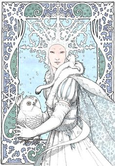 The Snow Queen by Tomislav Tomic