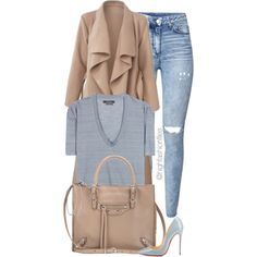 Everyday Style by highfashionfiles on Polyvore featuring Isabel Marant, H&M, Christian Louboutin and Balenciaga