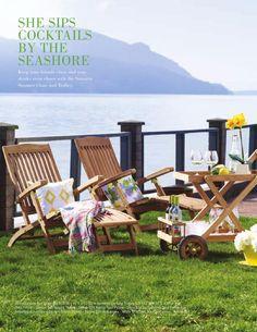 Sumatra Steamer chairs ISSUU - Summer 2014 Catalogue by Urban Barn