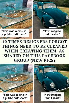 The last time we wrote about the Facebook group 'Things designed by people who don't have to clean them',