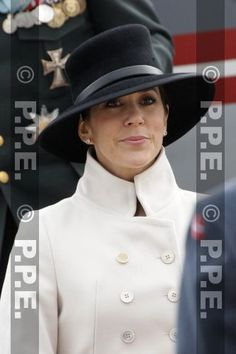 Interesting. Black hat. White coat.