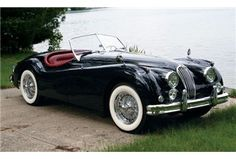 1956 Jaguar Roadster...Brought to you by House of Insurance Eugene for your low cost car Insurance. 541-345-4191