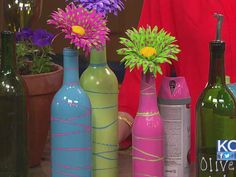 wine+bottle+crafts+with+lights | Turn your empty wine and beer bottles into craft projects - KCLive.tv