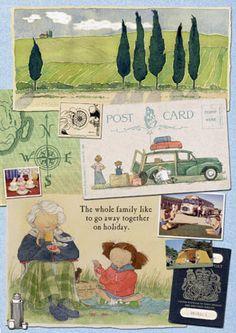 sophie allsopp illustrator-granny garden