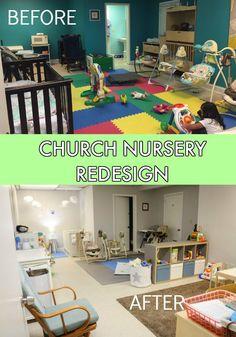 Church Nursery Redesign Malena Paz Baby Play Areas Clroom Infant